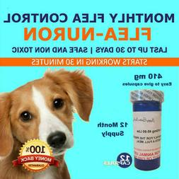 1 Year Supply MONTHLY Flea Control For Dogs 45-90 Lbs. 410 M