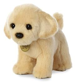 10 Inch Miyoni Golden Labrador Puppy Dog Plush Stuffed Anima