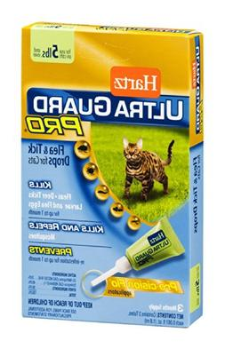 Hartz 10843 Ultra Guard Pro Flea & Tick Drops For Cats 3 Cou