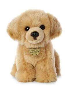 11 Inch Miyoni Sitting Golden Retriever Puppy Dog Plush Stuf