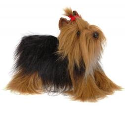 14 Inch Handcrafted Yorkshire Terrier Dog Plush Stuffed Anim