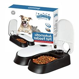 2 bowl automatic pet feeder