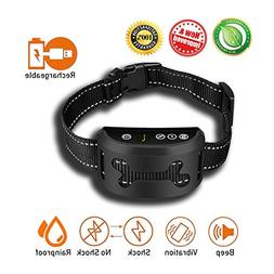 2018 New Rechargeable Bark Collar | Auto Anti Barking Traini