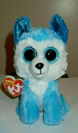 2020 NEW - Ty Beanie Boos - PRINCE the Husky Dog  MWMTs - IN