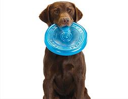 Orka Flyer Rubber Durable Frisbee Chew and Fetch Toy for Dog