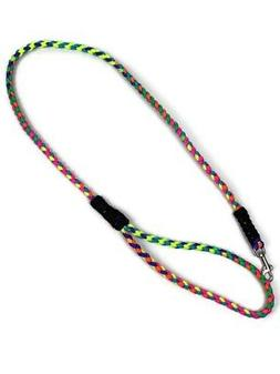 3.5 Foot Paracord Rainbow Dog Leash Handmade Great For Small