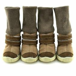 4Pcs/Set Pet Dogs Puppy Shoes Small Large Anti-slip Mesh Win