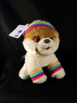 "GUND 9"" Plush  THE WORLD'S CUTEST DOG Pomeranian Toy RAINBOW"