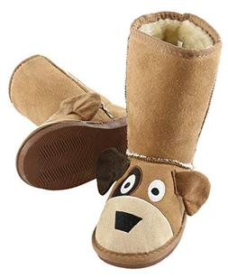 Dog Toasty Toez Cute Animal Character Slippers for Kids by L