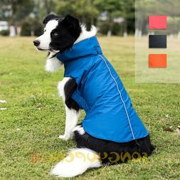 Dog Winter Waterproof Warm Fleece Jacket Coats Vest Sweater
