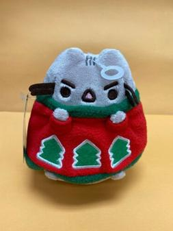 "GUND - 4.5""  CAT - PUSHEEN IN A HOLIDAY SWEATER"