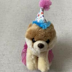 GUND Itty Bitty Boo #027 Birthday Tutu Dog Stuffed Animal Pl