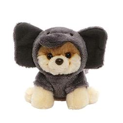 GUND The Worlds Cutest Dog Itty Bitty Boo Elephant Soft Mini