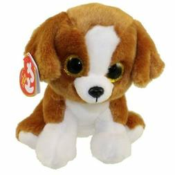 "TY Beanie Baby 6"" SNICKY the Dog Plush Stuffed Animal Toy MW"