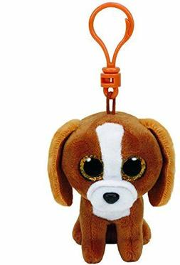 "Ty Beanie Boos 5"" Tala the Brown Dog Plush Backpack Keychain"