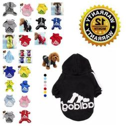 Warm Coat For Dog Soft Hoodie Adidog Cute Winter Apparel Pet