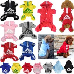 Adidog Pet Clothes for Dog Cat Puppy Hoodies Coat Winter Swe