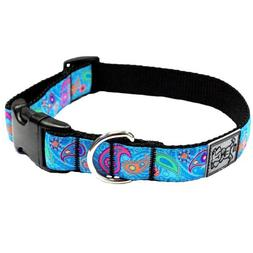 RC Pet Products 1-Inch Adjustable Dog Clip Collar, 15 by 25-