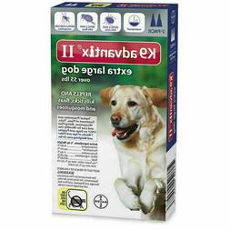 Advantage II Topical Flea Treatment for Dogs 55+ lbs.- 6-dos