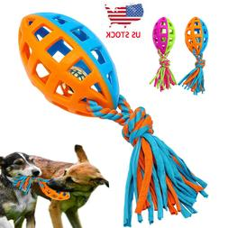 Aggressive Chew Toys for Dogs Indestructible Rubber Squeaker