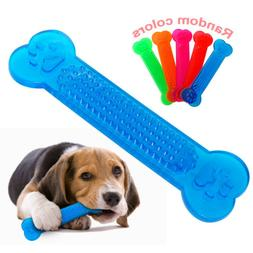 Aggressive Chew Toys for Small Dogs Cute Bone Rubber Dog Too