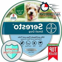 Bayer Seresto Animal Flea and Tick Collar for Small Dogs, 7-