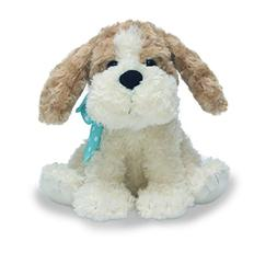 animated plush toy dog buttons
