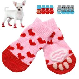 Anti-slip Paw Shoes for Dogs Puppy Pet Dog Socks Shoes Paw P
