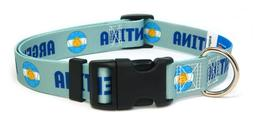 Argentina Argentinian World Cup Soccer Dog Collar for Small