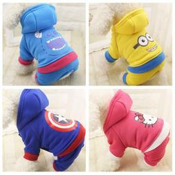 Autumn Winter Pet Clothes Dog Coat for Small Dogs Puppy Dog