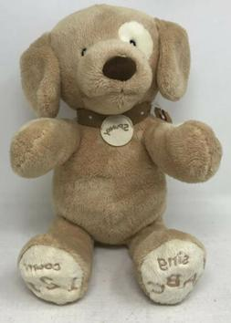 Baby Gund Gund Spunky ABC 123 doggie Animated Stuffed Animal