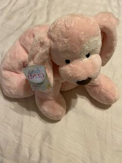 Baby Gund Spunky Puppy Dog Pink With White Spots New With Ta