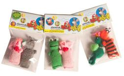Chilly Dog 2-Pack Barn Yarn Animal Catnip Toy