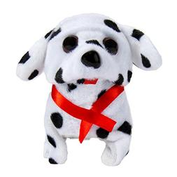 Battery Operated Plush Puppy Toy Dog Walking Barking Tail Wa