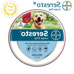 Bayer Seresto Collar for Large Dog over 18 lbs, Against Flea