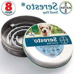 Bayer Seresto Flea and Tick Collar for Small Dog, Up to 18lb