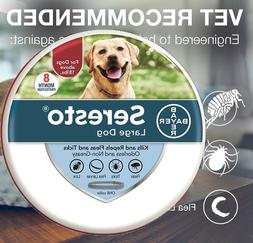 Bayer Seresto Collar for Large Dogs Over 18 lbs 8 Months Fle