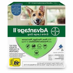 Bayer Advantage II for Extra Large Dogs Over 55 lbs - 4 Pack