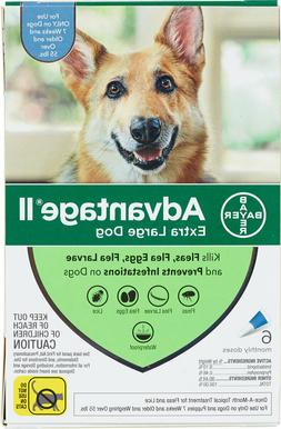 bayer ii for extra large dogs over