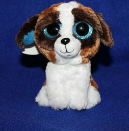 "TY Beanie Babies Boo's Duke Dog 6"" Stuffed Collectible Plush"