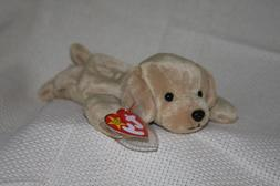 b8cfab9a5ff TY Beanie Babies Fetch the Golden Retriever Dog Stuffed Anim