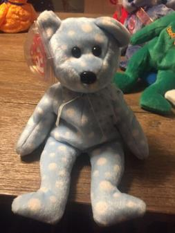 Ty Beanie Baby - BUBBLY the Bear   - MWMTs Stuffed Toy