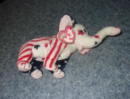 Ty Beanie Baby Righty the Elephant 2000 Election For Dog Res