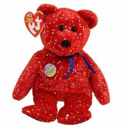 TY Beanie Baby - DECADE the Bear   - MWMTs Stuffed Toy