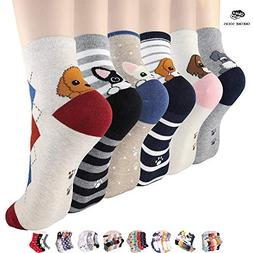 OKIE OKIE Best Selling Womens Socks Gift - Animal Cat Dog Ar