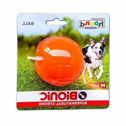 Outward Hound Bionic Ball Orange Medium Dog Toy. **Free Ship
