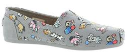 Skechers BOBS for Dogs Bobs Plush Flat Shoe 'Go Fetch' ~ Gre