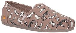Skechers BOBS Women's Bobs Plush-Dream Doodle Ballet Flat, T