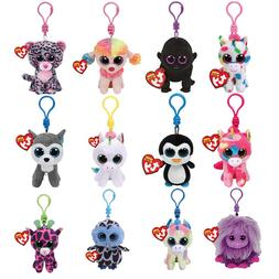 Ty Boos Big Eyes Plush <font><b>Keychain</b></font> Toy Doll
