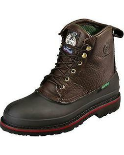 "Georgia Boot Mud Dog Waterproof 6"" Lace-Up Work Boot -"